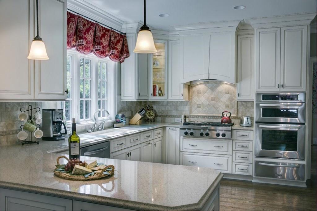 кухня в стиле прованс белая