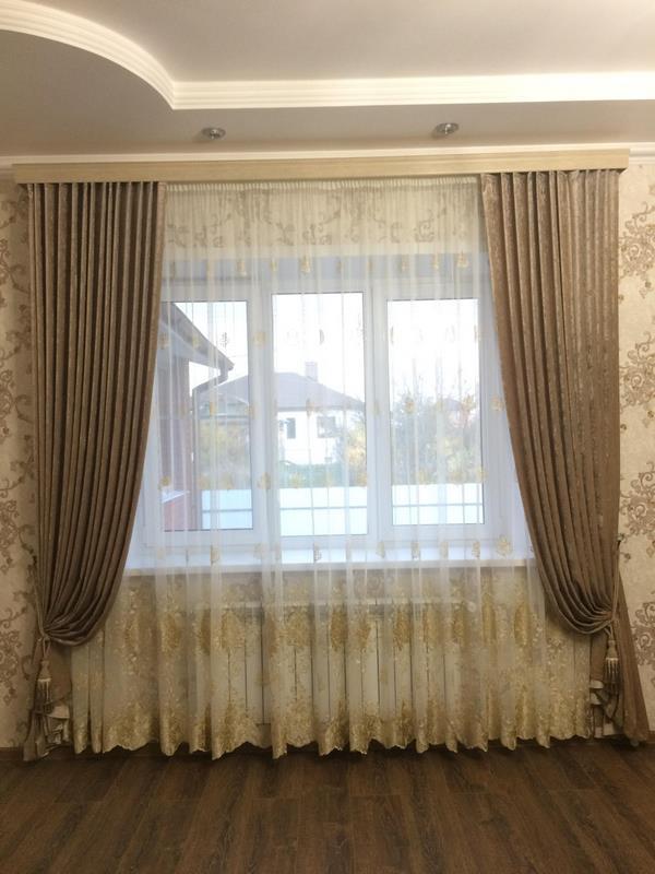 Выбираем размер штор: ширина, длина, сборка