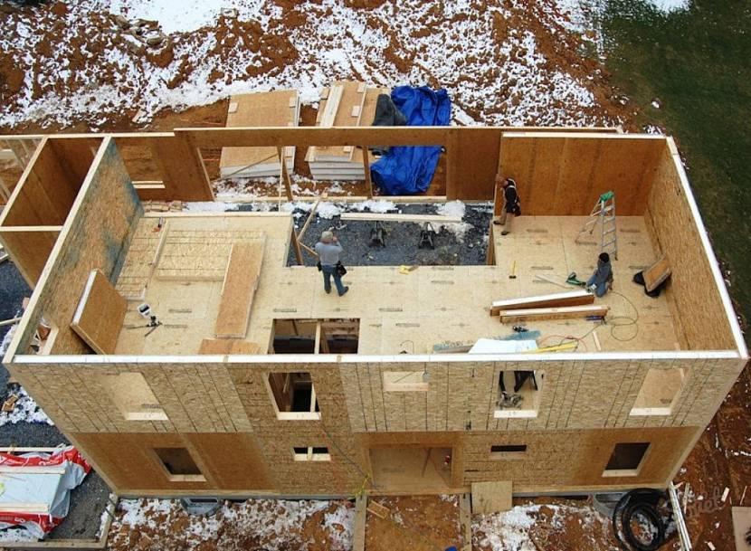 Дома из бетонных и железобетонных панелей, технология, достоинства. | домовой | дизайн интерьера и ремонт