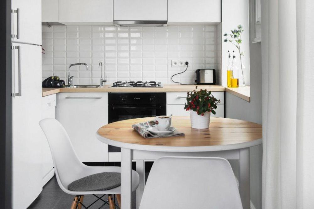 Кухонные столы и стулья для маленькой кухни: как выбрать нужную модель?
