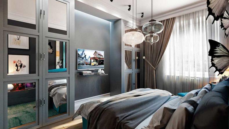 красивые спальни дизайн фото в квартире