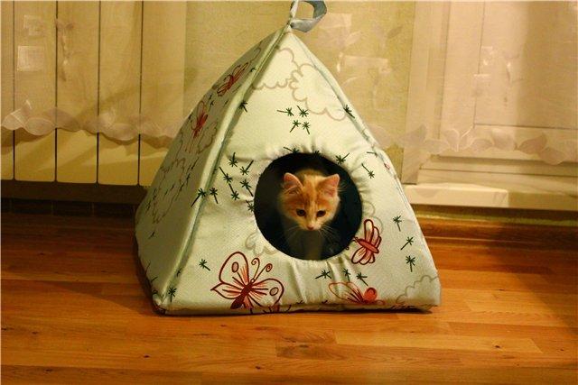 чем обшить кошачий домик