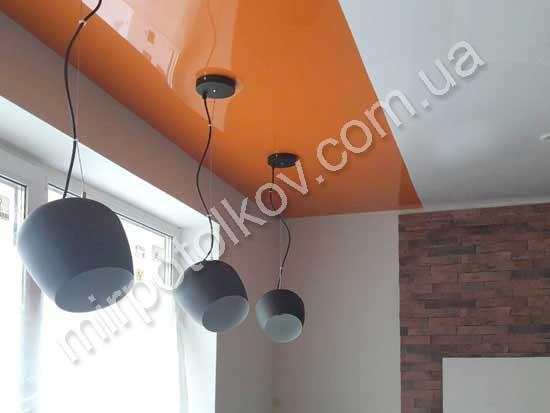 Выбор цвета натяжных потолков