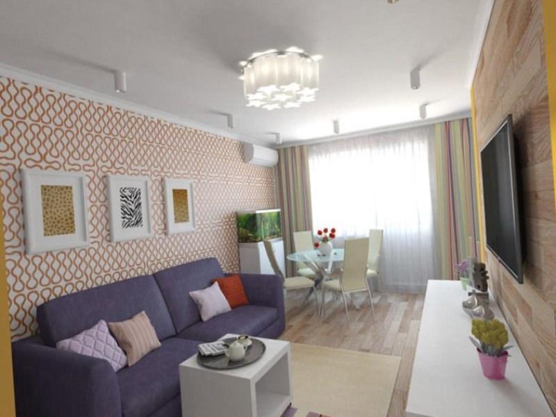 дизайн хрущевки 1 комната