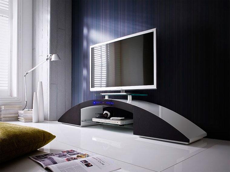 Тумбочка под телевизор (65 фото): виды и модели