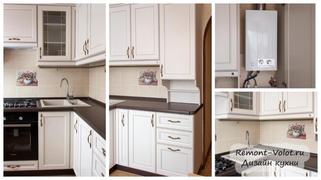 Дизайн кухни с газовой колонкой: 15 фото дизайн кухни с газовой колонкой: 15 фото