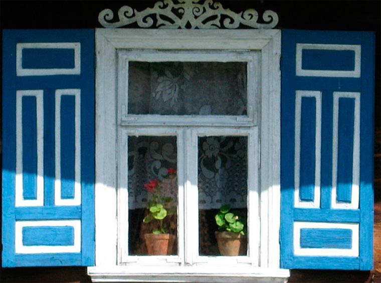 красивые окна в частном доме фото