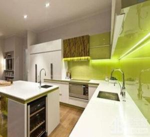 Светодиодная подсветка для кухни рабочей зоны: подключение