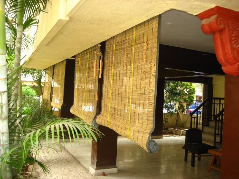 бамбуковые шторы на окна