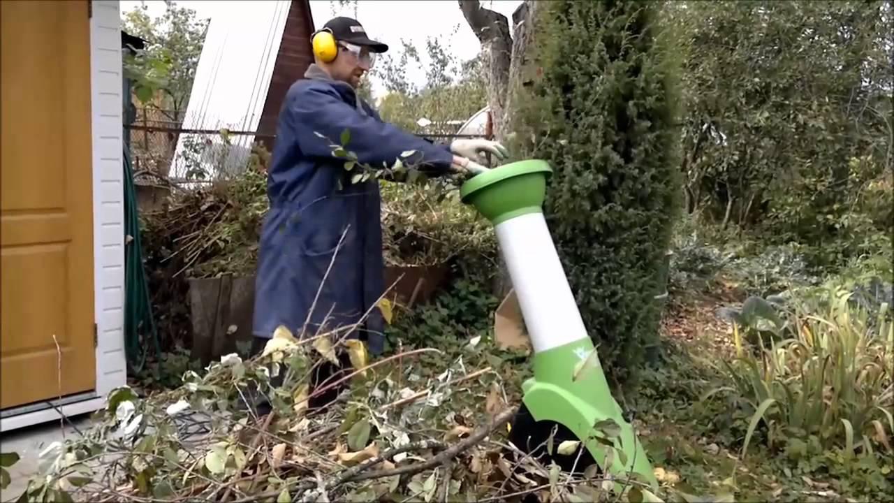 садовый измельчитель для травы