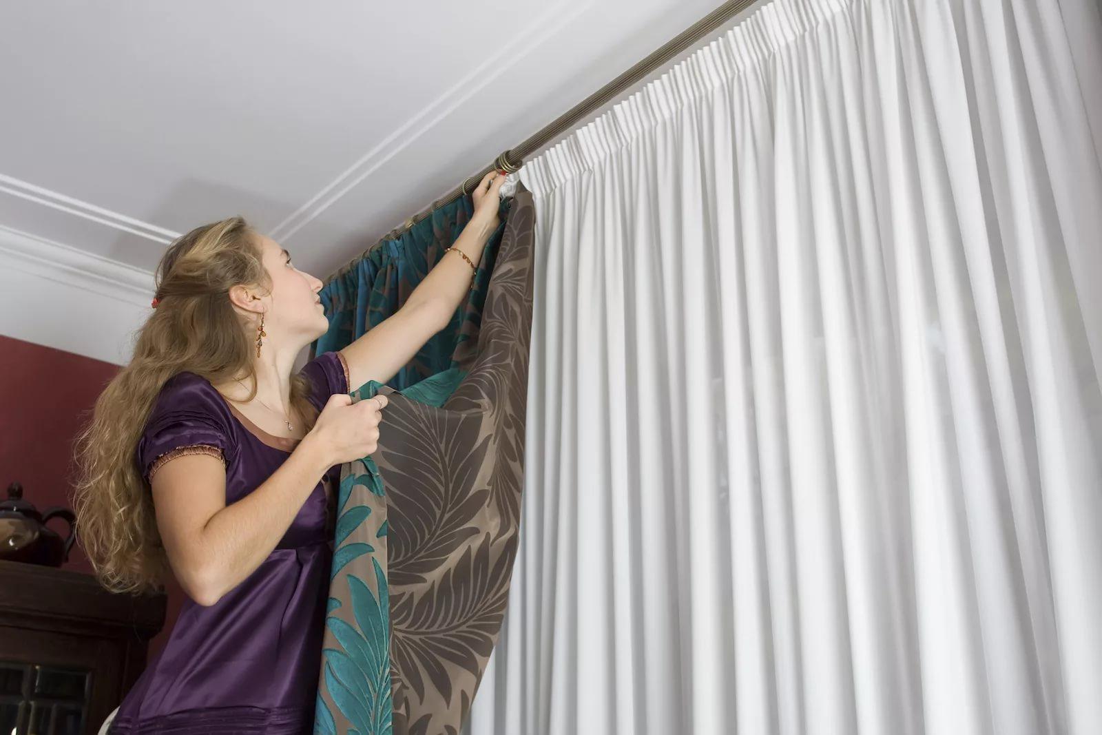 Петли на шторах: как сделать своими руками, из ниток, лента, липучками, мастер-класс, фото, видео