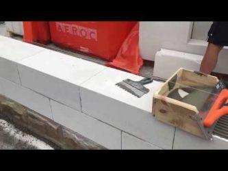 Виды штукатурок по газобетону для наружных работ и внутренних, подготовка стен для нанесения отделки, штукатурка стен из пеноблоков своими руками, видео советы
