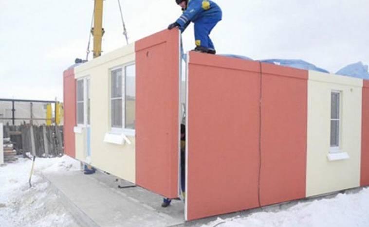 Железобетонные стеновые панели: преимущества строительства