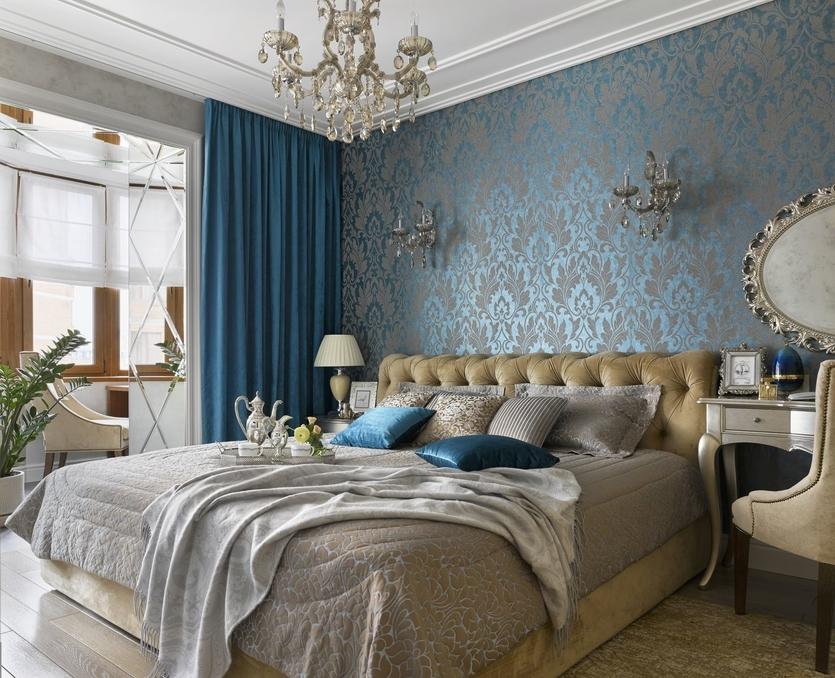 Интерьер узкой спальни – стиль и комфорт - 44 фото примера
