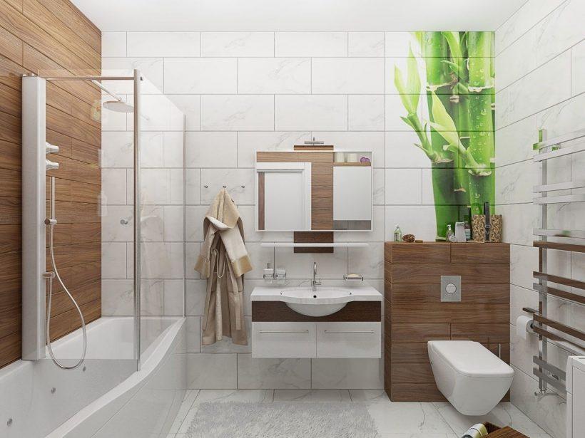 Как обустроить интерьер ванной комнаты в стиле лофт, выбор плитки и мебели