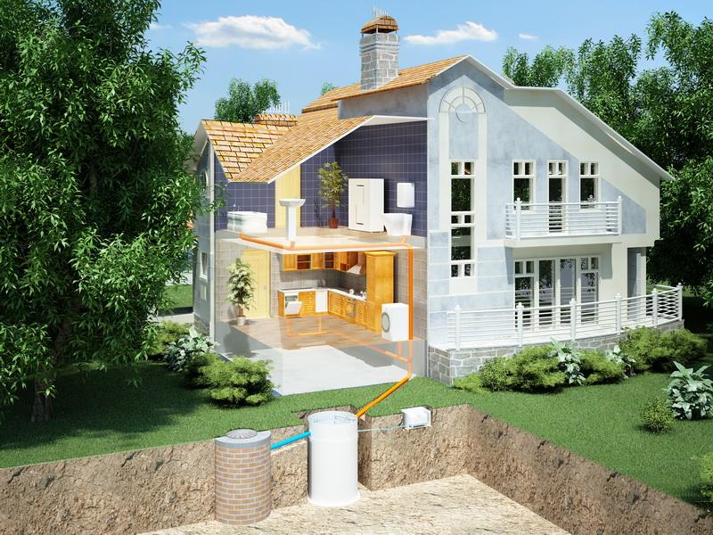 Канализация для частного дома топас