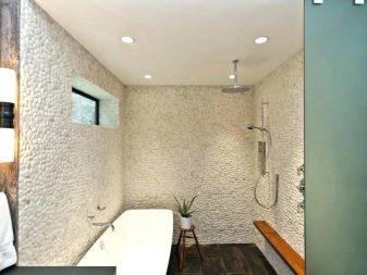 чем обшить ванную комнату недорого