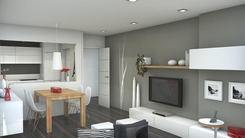 Кухня-студия – фото дизайна интерьеров кухонь в небольшой квартире-студии