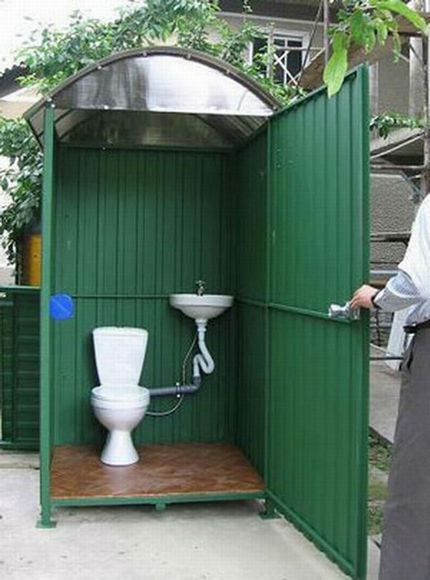 Ширина и глубина ямы для туалета на даче – расчет параметров
