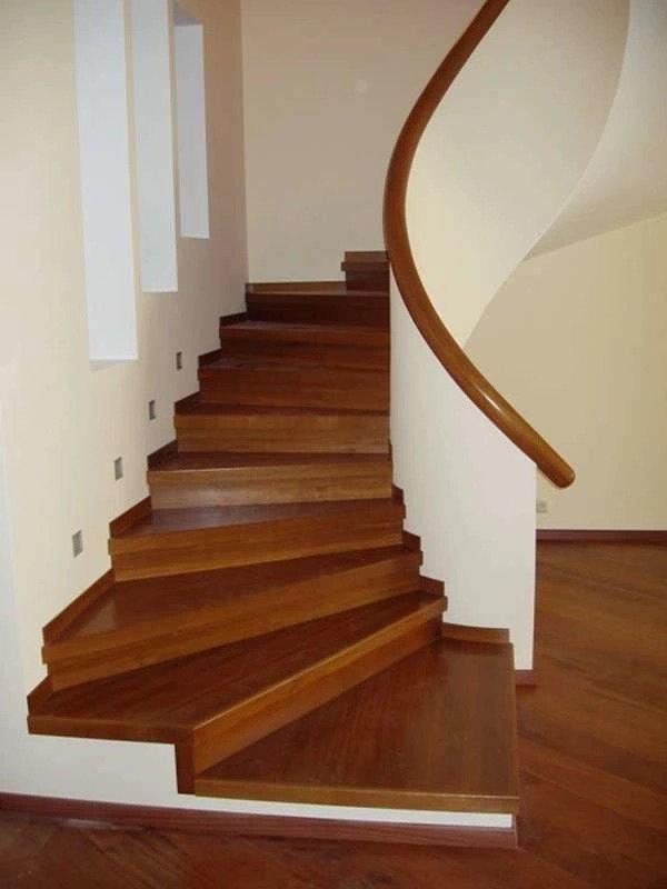 Варианты обшивки металлических лестниц: фото идеи, видео