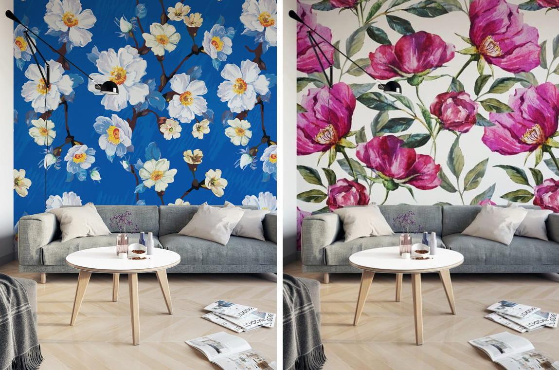 Обои для стен – идеи современных вариантов украшения стен для комнат (85 фото) – строительный портал – strojka-gid.ru