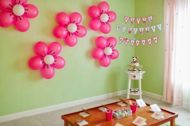 Идеи украшения комнаты на день рождения мальчика 1 годик