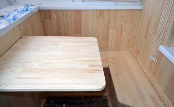 Стол на балкон - инструкция как сделать своими руками. обзор достойных моделей + 90 фото