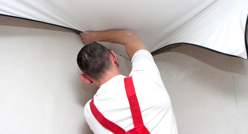 Можно ли снять натяжной потолок и как это сделать?