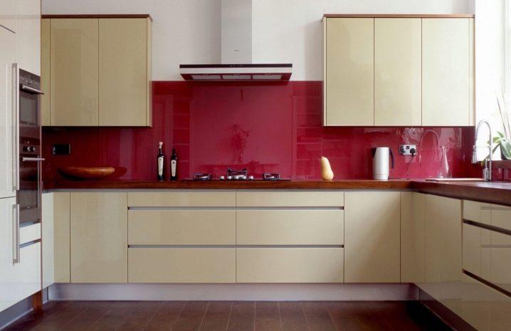 Прозрачный стеклянный фартук для кухни (15 фото): идеи оформления фартука стеклом, красивые примеры в интерьере