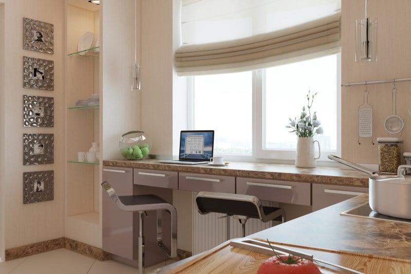 Шкаф вокруг окна: варианты исполнения и особенности