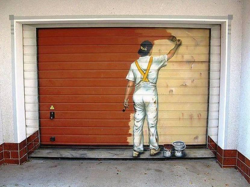 краска для гаражных ворот