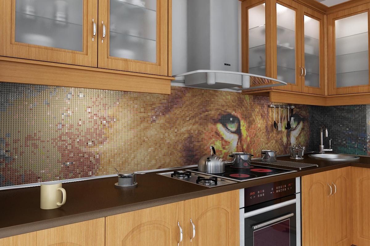кухонный фартук на стену