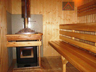 Труба для бани: выбор конструкции и установка в дымоход