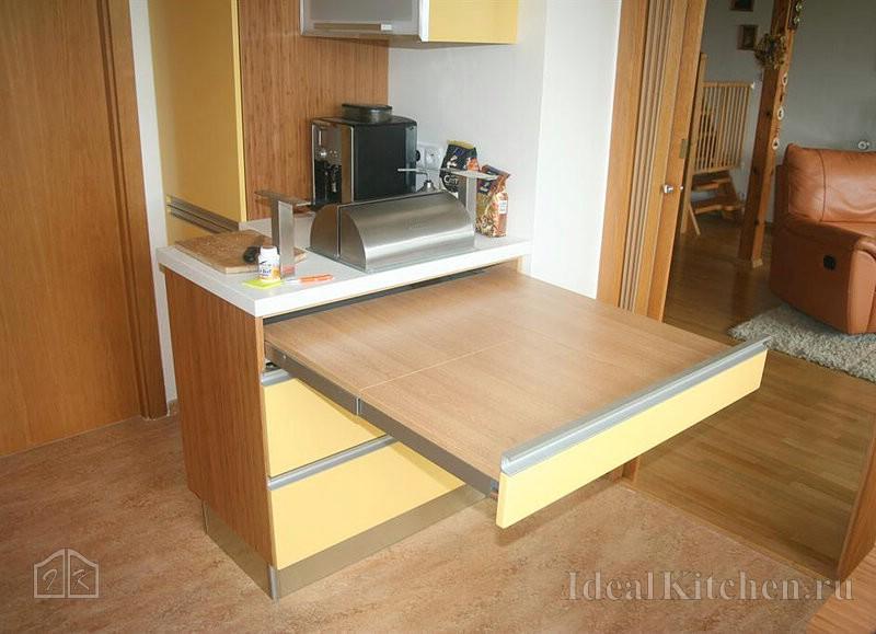 Раздвижной стол своими руками: инструкция по изготовлению