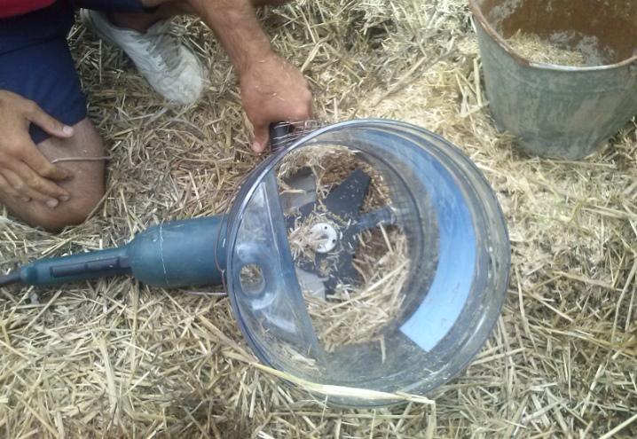 Измельчитель травы своими руками: как сделать самодельную траворезку