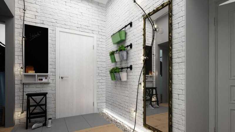 прихожие в коридор в современном стиле фото