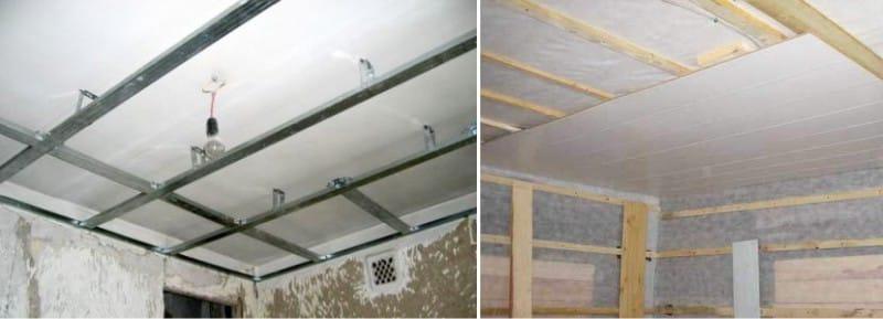 Пластиковый потолок своими руками - монтаж, инструкция!