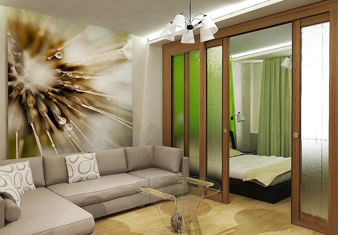 дизайн комнаты 20 кв м спальни гостиной