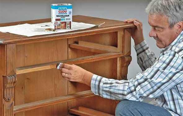Как обновить старый шкаф?