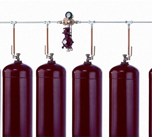 Отопление частного дома и дачи газовыми баллонами, сжиженным газом