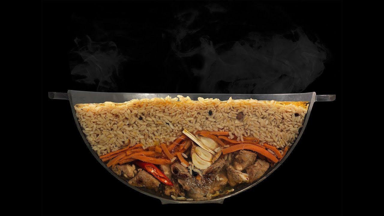 Плов из курицы в казане: рецепт плова, как его готовить на костре
