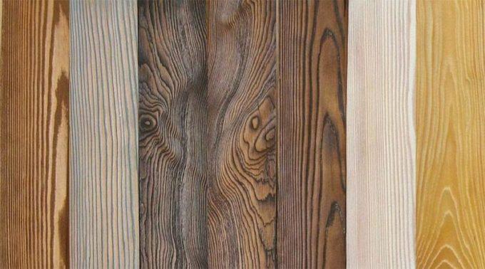 Все о брашировании древесины