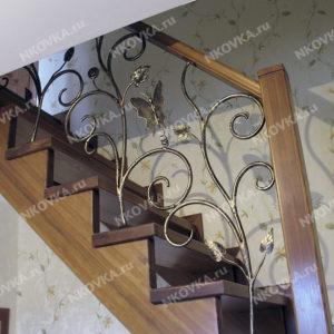 Лестничные перила наружные и внутренние для дома и дачи