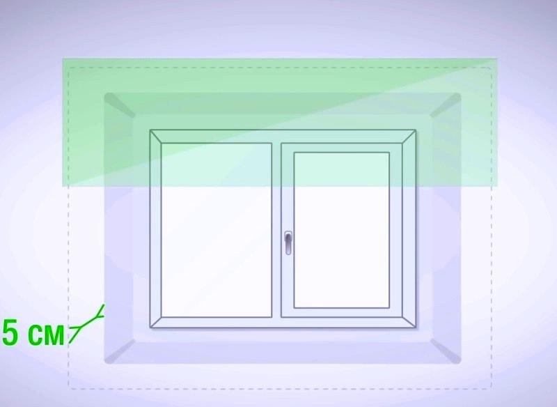 установка горизонтальных жалюзи на пластиковые окна