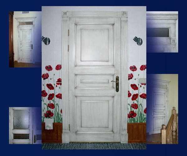 Как обновить межкомнатные двери своими руками: рекомендации, как можно это сделать для старых деревянных, из шпона, со стеклом, а также фото