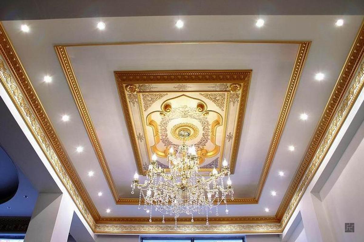 из чего можно сделать потолок