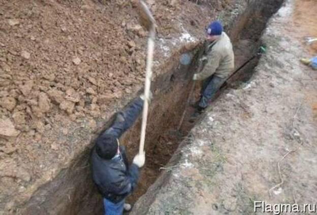 Сколько стоит капать 1 куб земли вручную под ленточный фундамент