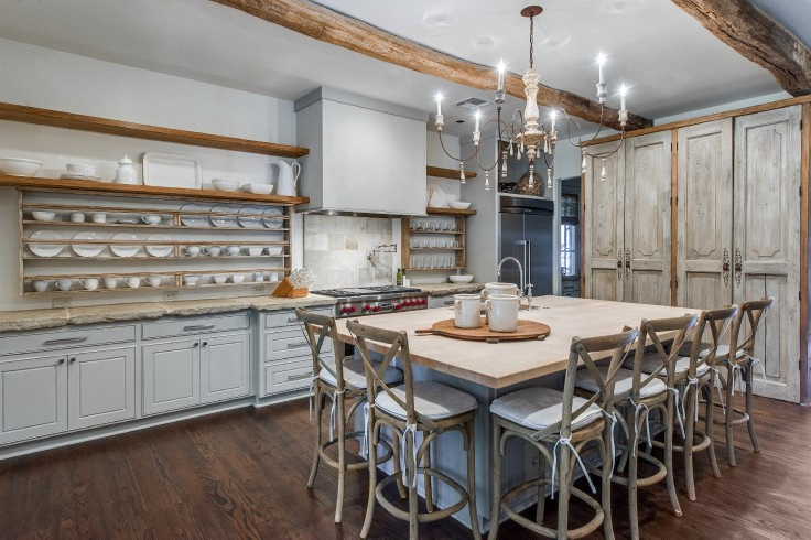 Дизайн кухни в стиле прованс: 80 лучших идей оформления и декора