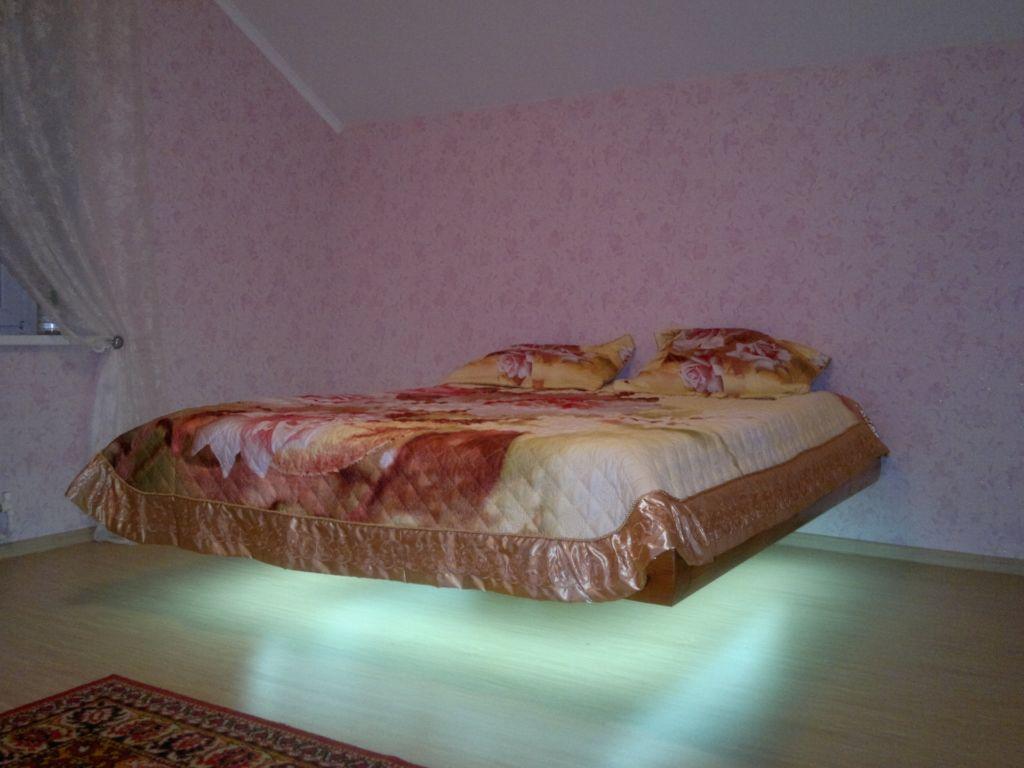 Парящая кровать: 40+ фото, дизайнерские идеи для спальни, детской, гостиной