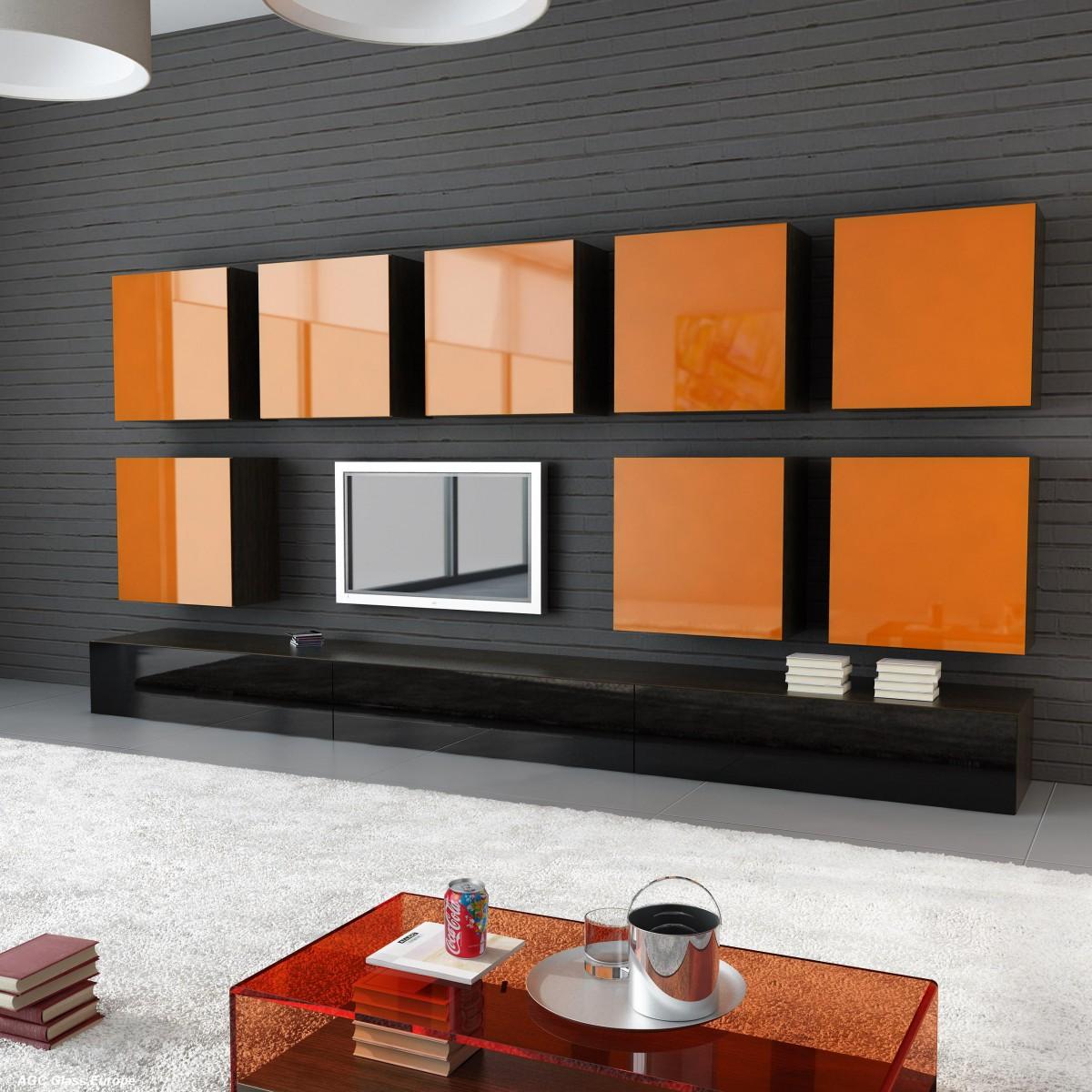 Оранжевый цвет в интерьере: как он воздействует на человека и как его лучше использовать?